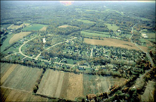 Aerial Photo of Warren County.
